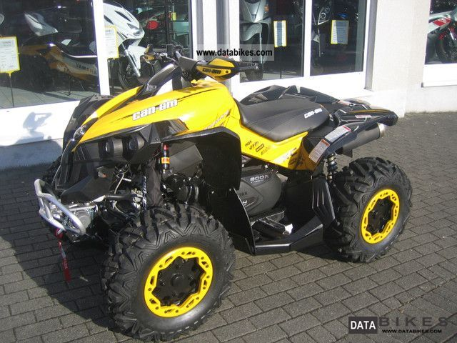2011 can am renegade 800 xxc incl lof elka suspension. Black Bedroom Furniture Sets. Home Design Ideas