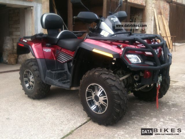 2009 Can Am  Outlander Max 4x4 Bombadier Limitid Motorcycle Quad photo