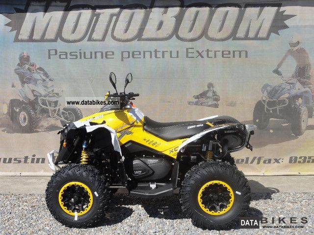 2012 Can Am Renegade 1000 XxC Motorcycle Quad photo