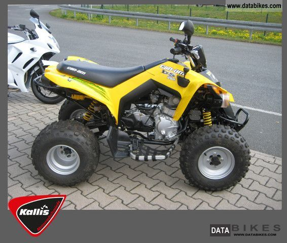 2010 Can Am  DS 250 Motorcycle Quad photo