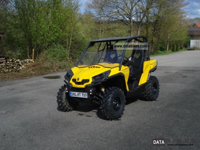 2012 Can Am  commander in 1000 EFI Motorcycle Quad photo