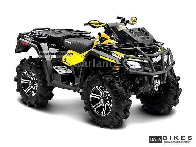 2011 Can Am  Outlander 800 XMR Motorcycle Quad photo