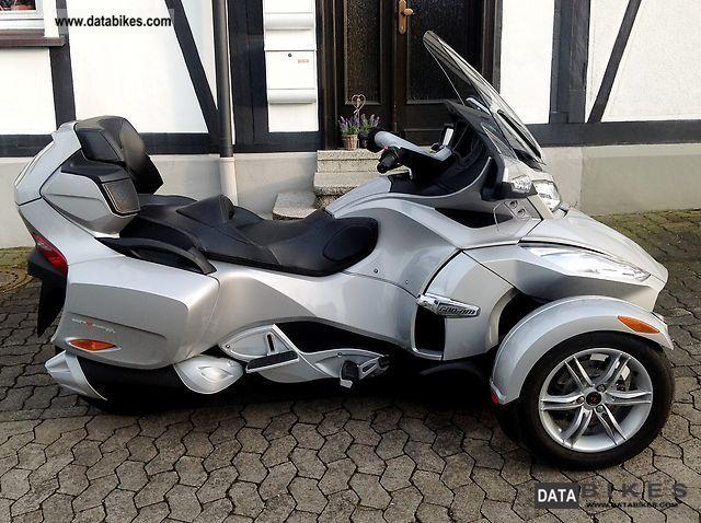 2010 Can Am  SPYDER RT, GUARANTEE, U.FREI, S.HEFT, 1HD.3800KM, WNEU Motorcycle Trike photo