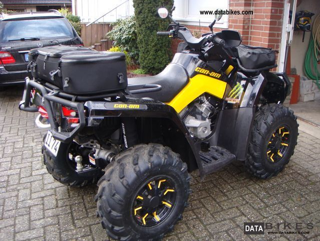 2010 Can Am  Outlander 800 XT-P with LOF and 72HP Motorcycle Quad photo