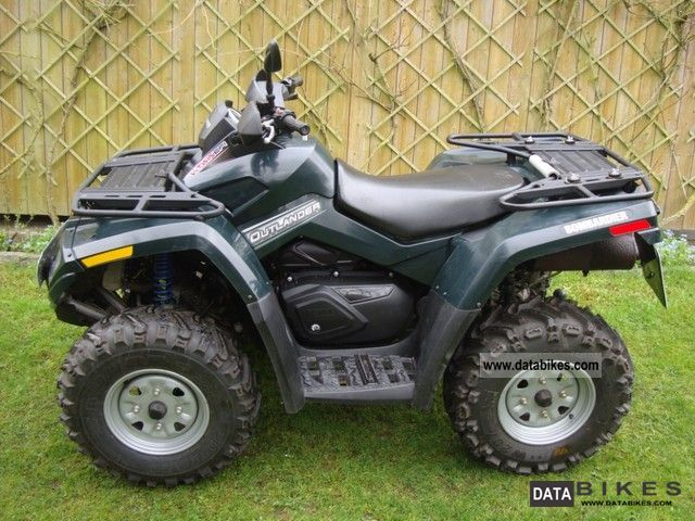 2005 Can Am  Outlander 800 Motorcycle Quad photo