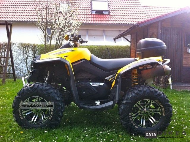 Can Am  Renegate 4 X 4 GOOD CONDITION 2008 Quad photo