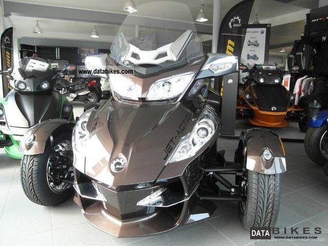 2011 Can Am  BRP Spyder RT Limited LTD SE5 Motorcycle Trike photo