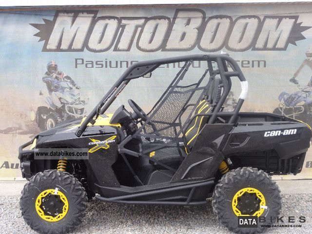 2012 Can Am  Commander 1000 X Motorcycle Combination/Sidecar photo