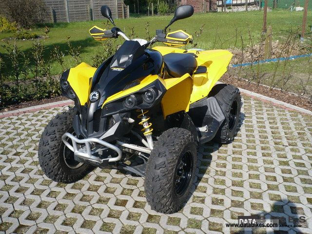 Can Am  Renegade 800 - LOF approval 2008 Quad photo