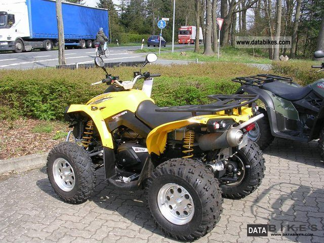 2008 Can Am  Renegade 500 Motorcycle Quad photo