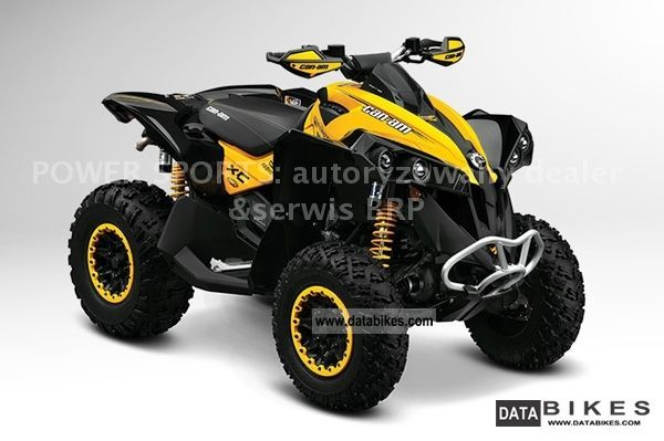 2011 Can Am  BRP Renegade 1000 XXC Motorcycle Quad photo