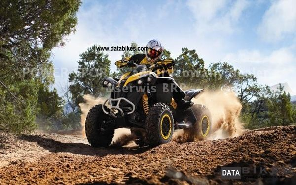 2011 Can Am BRP Renegade 1000 XXC