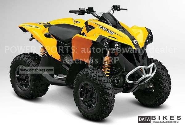 2011 Can Am  BRP Renegade 800R Motorcycle Quad photo