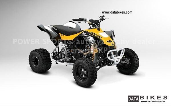 2011 Can Am  BRP DS 450 XMX Motorcycle Quad photo
