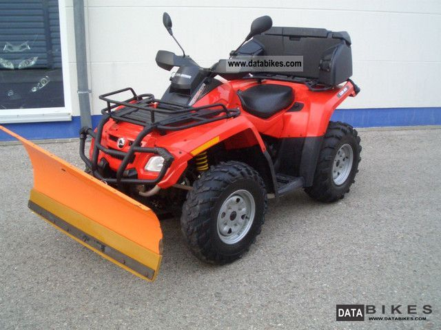 2007 Can Am  Outlander 800 Motorcycle Quad photo