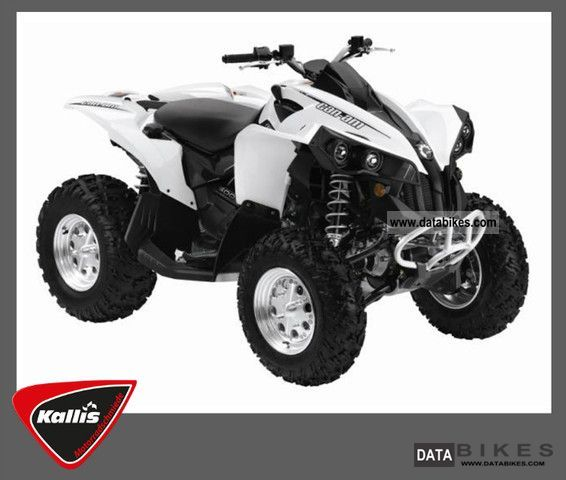 Can Am  Renegade 500 from the dealer plus LOF 2011 Quad photo