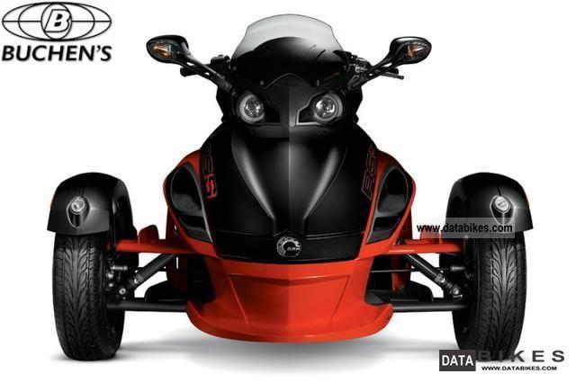 2011 Can Am  Spyder SE5 Roadster RS-S CanAm Red \u003e\u003e FS.Kl 3 / B Motorcycle Trike photo
