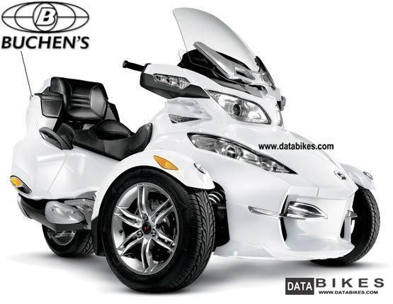 2012 Can Am  Spyder RT-S Limited Motorcycle Trike photo