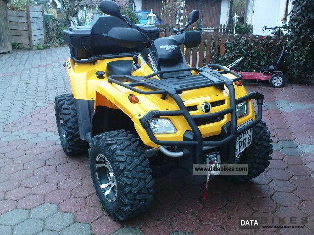 2007 Can Am  Outlander 800 XT Motorcycle Quad photo