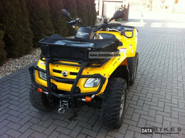 2008 Can Am  650 Motorcycle Quad photo