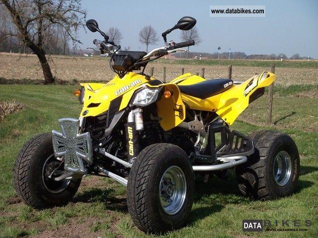 Can Am  DS 450 EFI 2009 Quad photo