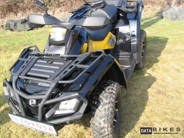 2010 Can Am  Outlander MAX 800R XTP Motorcycle Quad photo