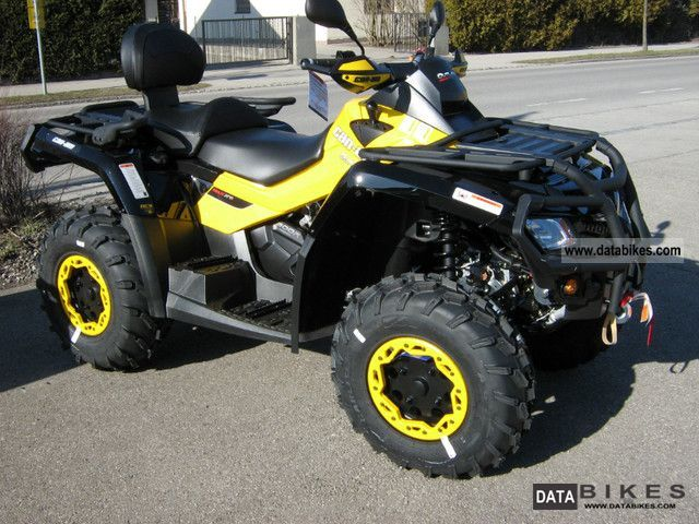 2011 Can Am  Outlander MAX 800R XT-P Motorcycle Quad photo