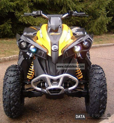 Can Am  Renegade 1000 X xc with LOF approval! 2011 Quad photo
