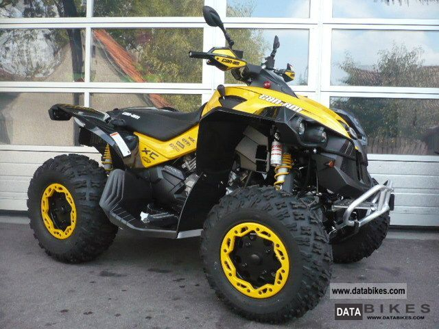 2011 Can Am  BRP Renegade 800R XXC Motorcycle Quad photo