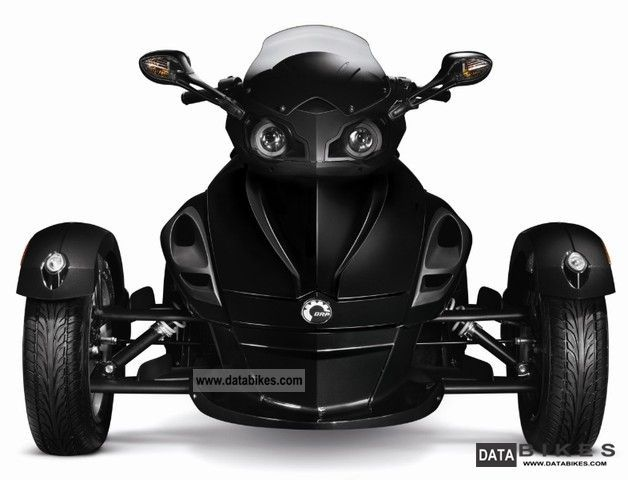 2011 Can Am  BRP Spyder RS Motorcycle Motorcycle photo