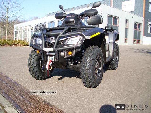 2011 Can Am  Outlander Max 800 Limited with LOF-approval Motorcycle Quad photo