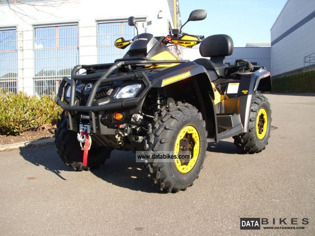 2011 Can Am  Outlander 800 Max XTP with LOF-approval Motorcycle Quad photo