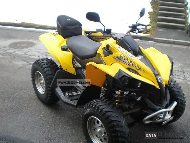 2009 Can Am  500 Renegade Motorcycle Quad photo
