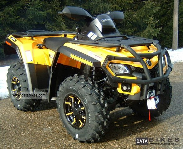 2011 Can Am  Outlander 650 XT incl LOF approval! Motorcycle Quad photo