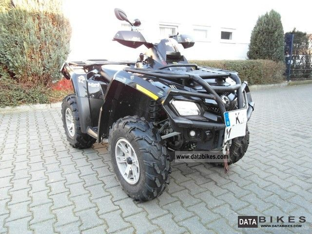 2009 Can Am  BRP Outlander 800 XT customer order Motorcycle Quad photo
