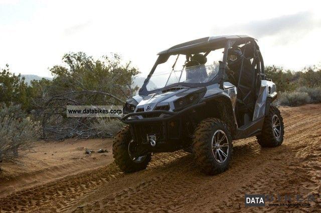 2011 Can Am  BRP Commander 800/1000 X / XT / LTD Motorcycle Quad photo