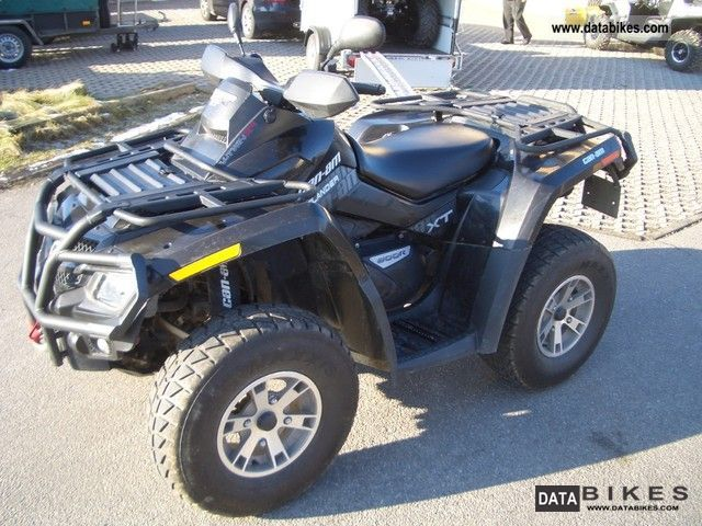 2009 Can Am  Outlander 800 XT R Motorcycle Quad photo