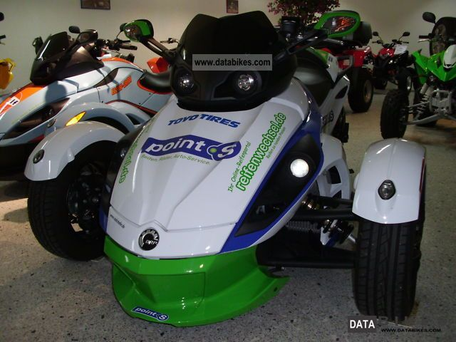 2009 Can Am  Spyder with improved performance Motorcycle Sports/Super Sports Bike photo