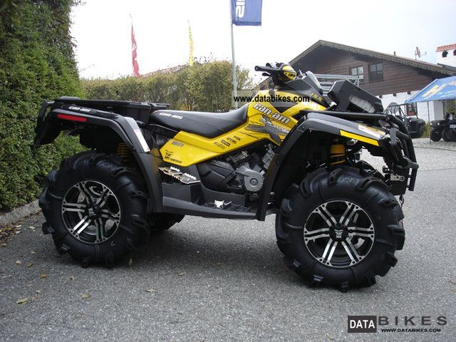 2011 Can Am Outlander 800r Efi Xmr Lof Model    2012