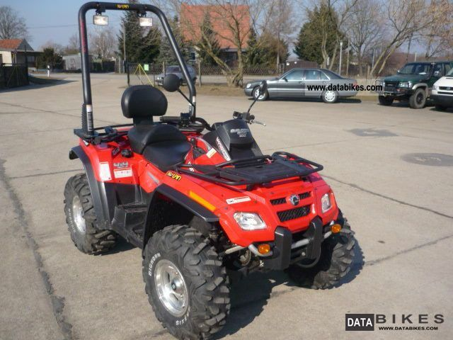2007 Can Am  Outlander Max 800R EFI 4WD off-road conversion Motorcycle Quad photo