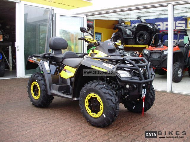 2011 Can Am  Outlander MAX 800 R EFI XTP LOF model 2012 Motorcycle Quad photo