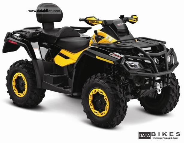 Can Am  BRP Outlander MAX 650 EFI XT-P 2011 Quad photo