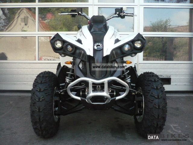 Can Am  BRP Renegade 500 EFI with LOF / ZM 2012 Quad photo