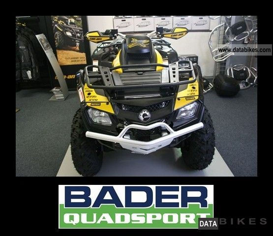 2011 Can Am  OUTLANDER 800 R XXC * 72 HP SPORT WHEEL 4X4 ATV * Motorcycle Quad photo