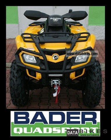 Can Am  OUTLANDER XT 650 * PACKAGE AND POSSIBLE LOF * 2011 Quad photo