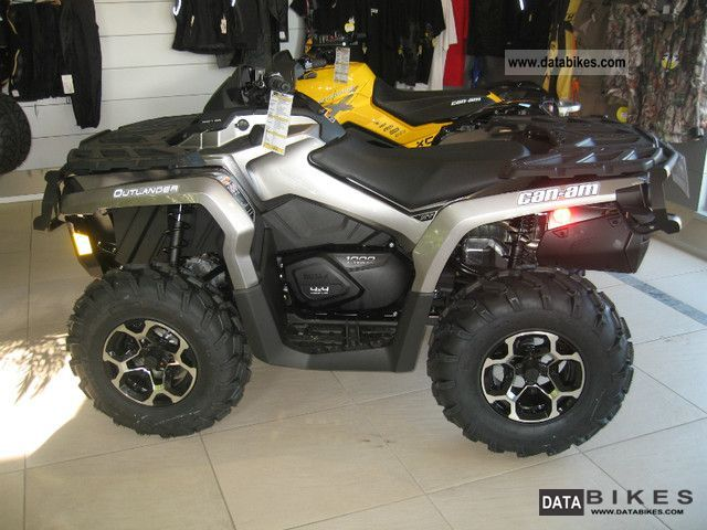 2011 Can Am  1000 Outlander XT EFI LOF including approval Motorcycle Quad photo