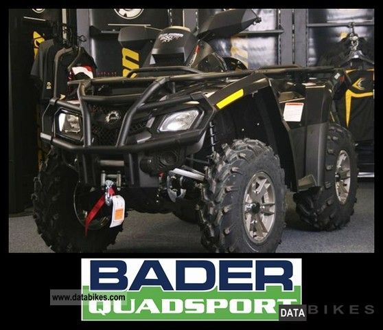 2011 Can Am  OUTLANDER 800R XT ** BLACK ** WITH BRP WINCH Motorcycle Quad photo