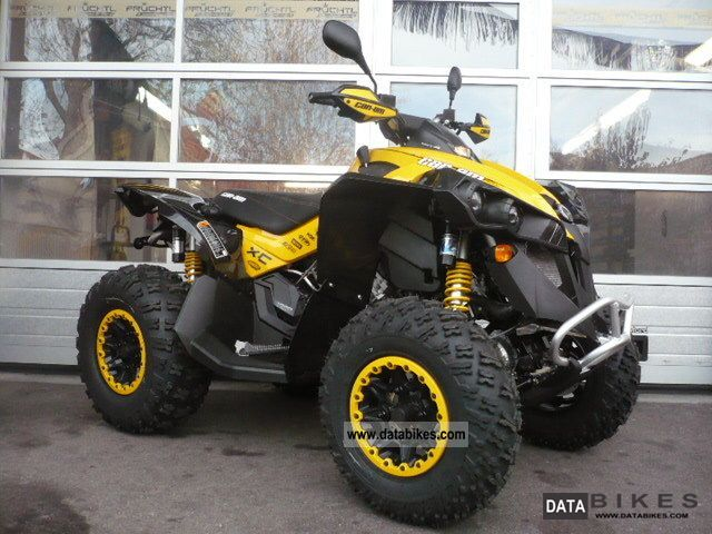 2011 Can Am  BRP Renegade 1000 EFI XXC Motorcycle Quad photo