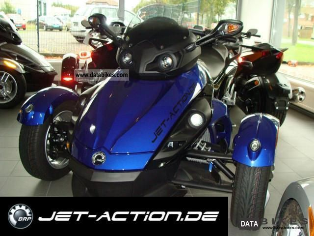 2011 Can Am  BRP Spyder SE5 RS 2010 Motorcycle Quad photo