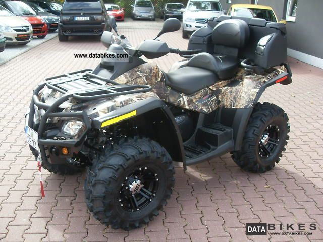 2011 Can Am  Outlander 800 XT, ONE PIECE, hammer part Motorcycle Quad photo